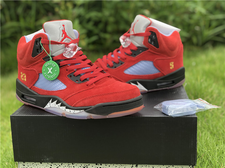Trophy Room x Air Jordan 5 JSP University Red Shoes For Men CL1899-007