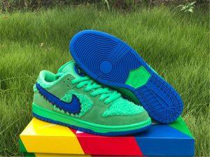 2020 Cheap Grateful Dead x Nike SB Dunk Low Green Bear CJ5378-300