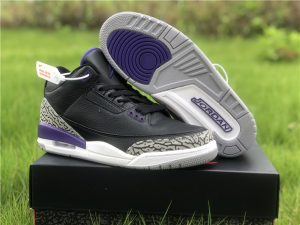 2020 New Release Air Jordan 3 Court Purple UK CT8532-050