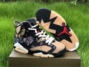 2020 Travis Scott x Air Jordan 6 Shoes UK CT5058-001