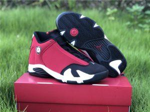 Air Jordan 14 Gym Red Toro Mens Shoes UK Sale 487471-006