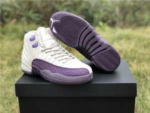 Girls Air Jordan 12s Pro Purple Online UK 510815-001