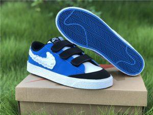 Kevin Bradley x Nike SB Blazer Low Heaven White-University Blue CT4594-400