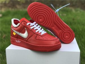 Off-White x Nike Air Force 1 Red White To Buy CI1173-600
