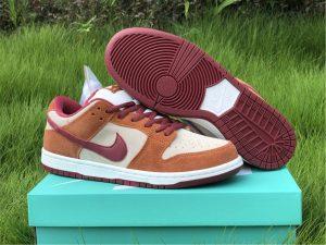 Shop Nike SB Dunk Low Pro Dark Russet UK Size BQ6817-202
