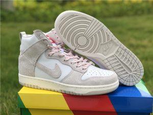 New Nike Dunk Hight Pro Grey White Shoes UK CW3092-100