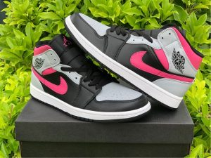 2020 Cheap Air Jordan 1 Mid Pink Shadow UK Shoes 554724-059