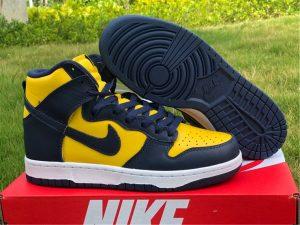 2020 New Nike Dunk High Michigan To Buy CZ8149-700
