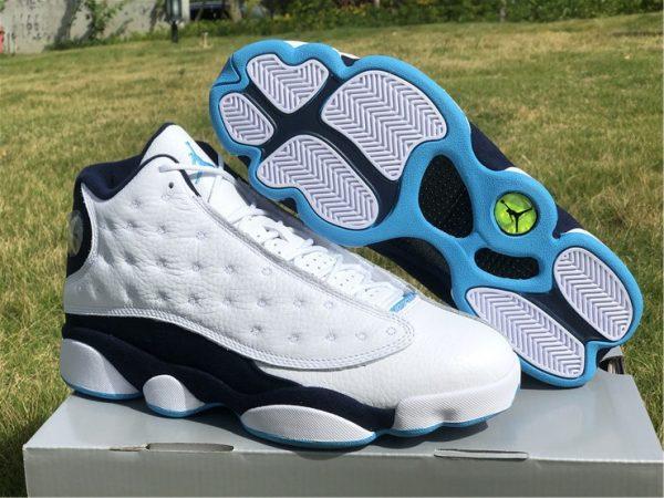 2021 Cheap Air Jordan 13 Dark Powder Blue UK Shoes 414571-144