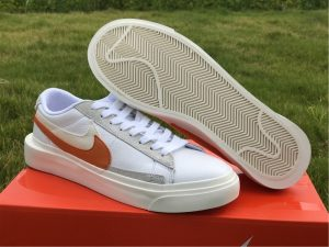 Buy Nike Blazer Low Sacai Orange Varisity White UK Online BV0076-107