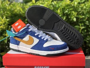 Kasina x Nike Dunk Low 80s Bus Industrial Blue New Releases CZ6501-100