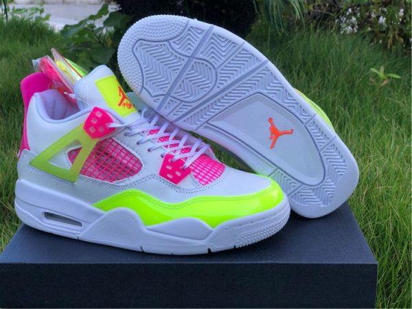 Nike Air Jordan 4 GS Lemon Venom UK Online CV7808-100