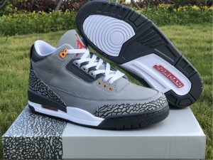 2021 Air Jordan 3 III Cool Grey UK Online Sale CT8532-012