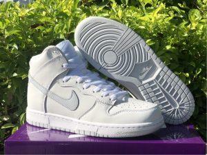 Nike Dunk High SP White Pure Platinum UK Release CZ8149-101