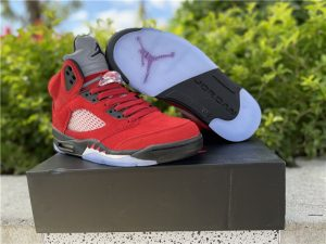 2021 Cheap Air Jordan 5 Raging Bull UK DD0587-600
