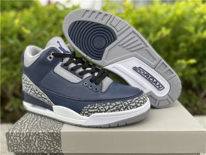 2021 Mens Air Jordan 3 Midnight Navy UK Online CT8532-401