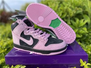 Buy Nike SB Dunk High Invert Celtics Shoes UK CU7349-001