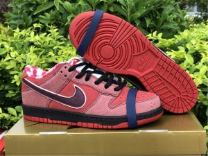 Concepts x Nike SB Dunk Low Red Lobster UK For Sale 313170-661