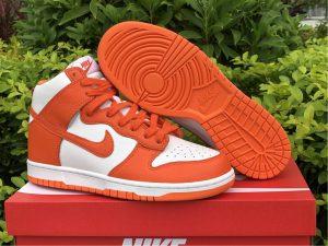 Nike Dunk High Retro QS Syracuse White Orange UK Cheap 850477-101