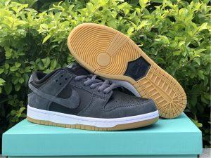Nike SB Dunk Low Dark Grey Black White UK Sale AR0778-001