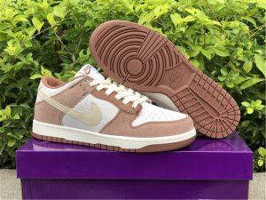 2021 Latest Nike Dunk Low PRM Medium Curry Shoes DD1390-100