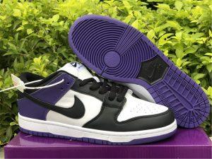 2021 New Nike SB Dunk Low Court Purple UK Online BQ6817-500