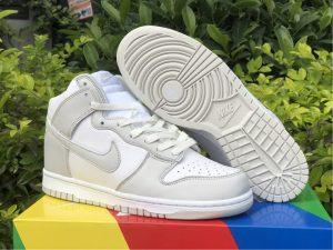 2021 Nike Dunk High Vast Grey New Sale DD1399-100