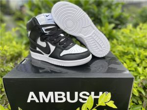 Ambush x Nike Dunk High Black White UK Cheap Price CU7544-001