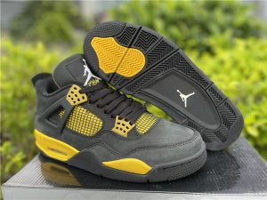 Mens Air Jordan 4 Retro Thunder Best Selling 308497-008
