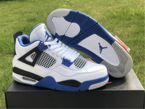 New Nike Air Jordan 4 Retro Motorsports UK Release 308497-117