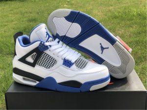 New Nike Air Jordan 4 Retro Motorsports UK Release 308497-117