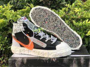 READYMADE x Nike Blazer Mid Black Camo UK Sneakers CZ3589-001