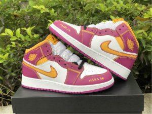 2021 Air Jordan 1 Mid Familia Basketball Shoes UK DC0500-100