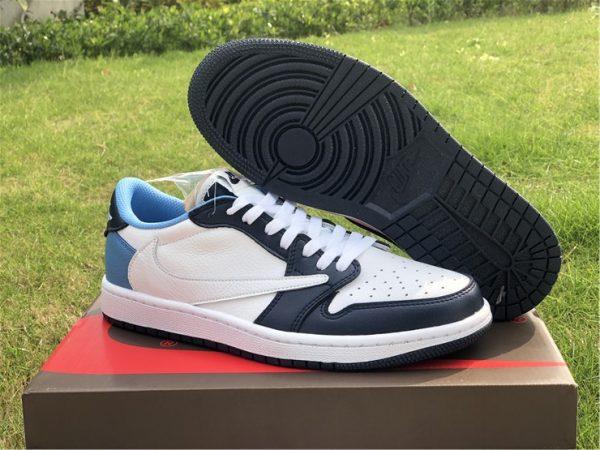 Brand New Air Jordan 1 Low OG SP Obsidian Barb UK CQ4278-001