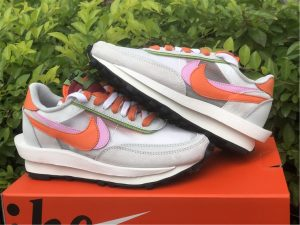 Buy Women's Nike Ldwaffle x Sacai Grey Orange Grey DH1347-100