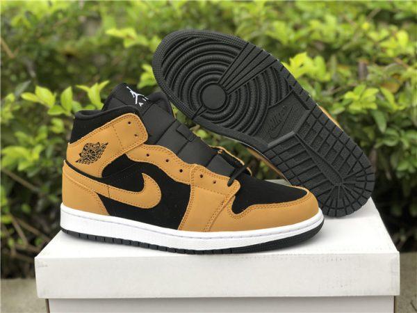 Latest Air Jordan 1 Mid SE Desert Ochre Authentic Shoes DB5453-700