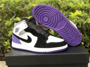 Nike Air Jordan 1 Mid SE Varsity Purple UK Online Sale 852542-105