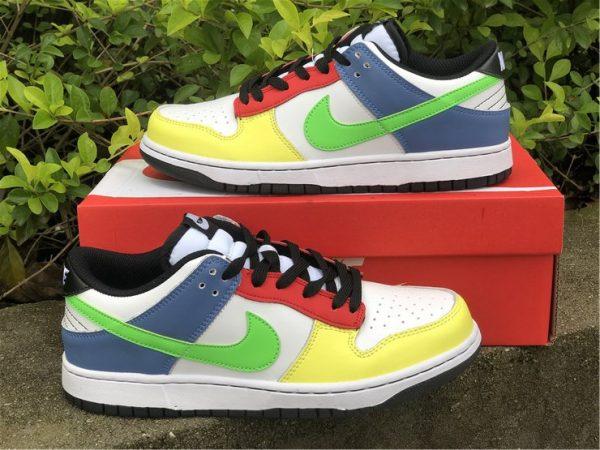 2021 Nike Dunk Low Green Strike Multi-Color UK Online DD1503-106-1