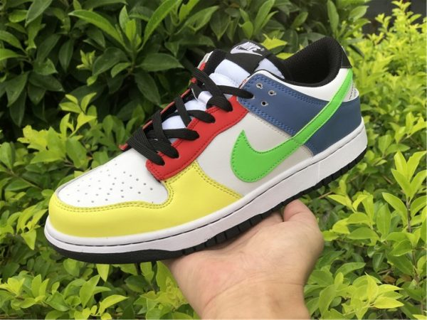 2021 Nike Dunk Low Green Strike Multi-Color UK Online DD1503-106-4