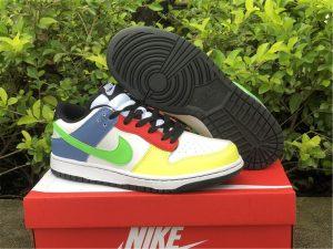 2021 Nike Dunk Low Green Strike Multi-Color UK Online DD1503-106