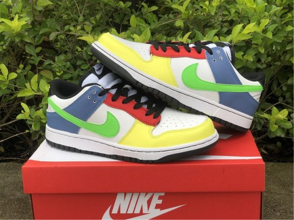 2021 Nike Dunk Low Green Strike Multi-Color UK Online DD1503-106-3