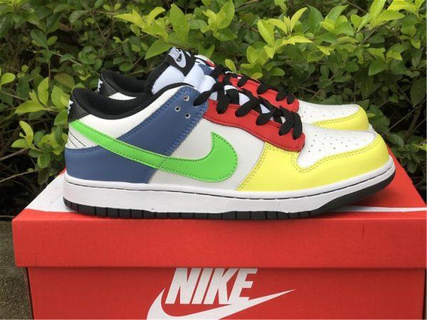 2021 Nike Dunk Low Green Strike Multi-Color UK Online DD1503-106-2