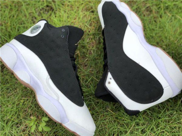 Jordan 13 Retro Black White Gum Sneakers