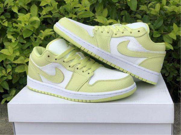 Best Air Jordan 1 Low Limelight Women Shoes DH9619-103