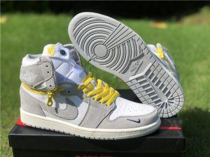 Mens Shoes Air Jordan 1 High Switch Light Smoke Grey In Stock CW6576-100