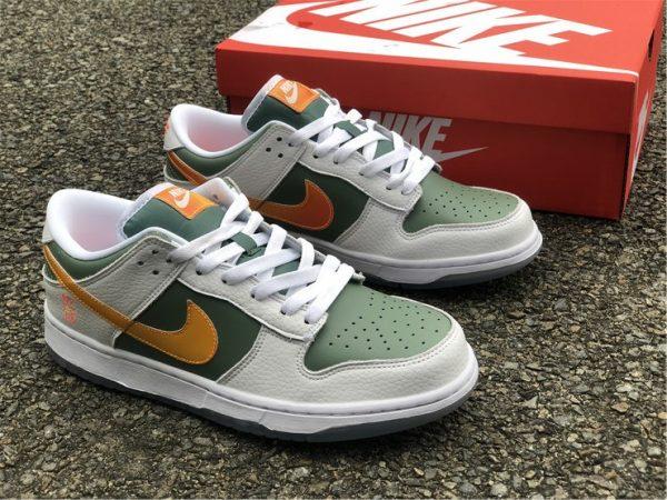 Nike Dunk Low NY vs NY Green Orange White UK DN2489-300