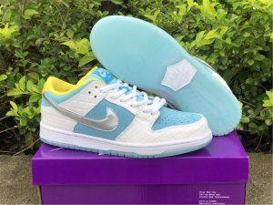 San Francisco FTC x Nike SB Dunk Low White For Sale DH7687-400