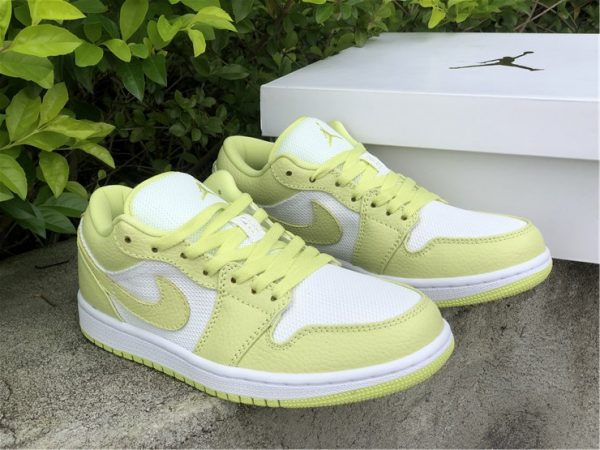 Shop Air Jordan 1 Low Limelight Women's Sneakers DH9619-103