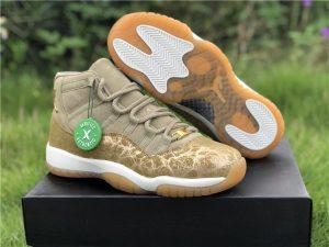 Where to buy Air Jordan 11 WMNS Olive Lux AR0715-200