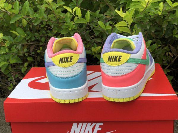 Womens Nike Dunk Low SE Easter Pastel Multi UK Sale DD1872-100-3